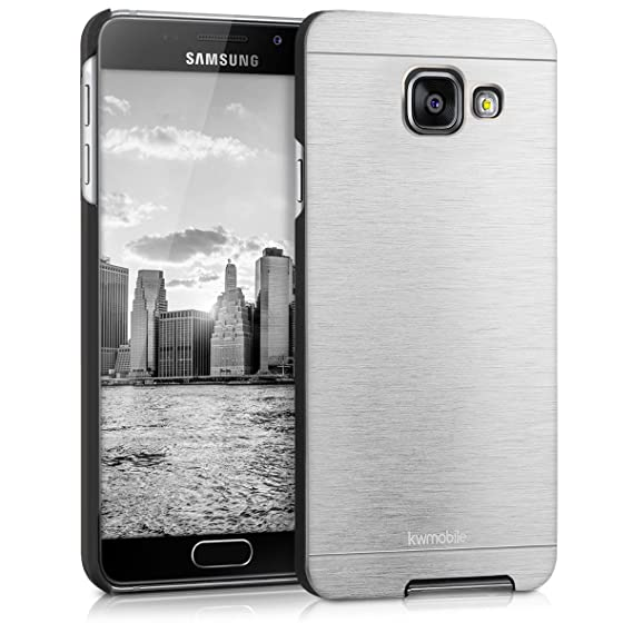 pretty nice 01c4d 32b81 Amazon.com: kwmobile Case for Samsung Galaxy A3 (2016) - Brushed ...