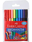 Faber-Castell Connector Pen - Pack of 10 (Assorted)