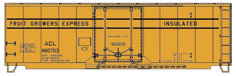 【激安セール】 Accurail B00NUAD8AQ ACU3130 HOキット 40フィート ARR スチールプラグドアボックス ARR ACL 40フィート/FGEX B00NUAD8AQ, JEMA(ギフトと模型材料)shop:591ce647 --- a0267596.xsph.ru
