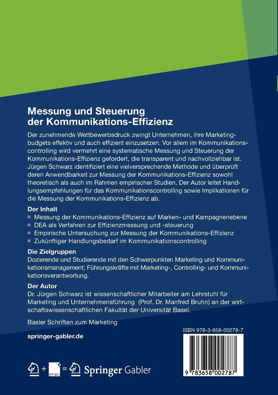 Messung und Steuerung der Kommunikations-Effizienz: Eine ...