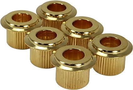 NEW GOLD Set of 6 Gotoh Large Tuning Machine Washers