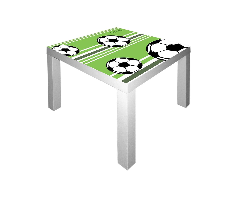 Fußball Möbelsticker / Aufkleber für den Tisch LACK von IKEA - IM48 Stikkipix