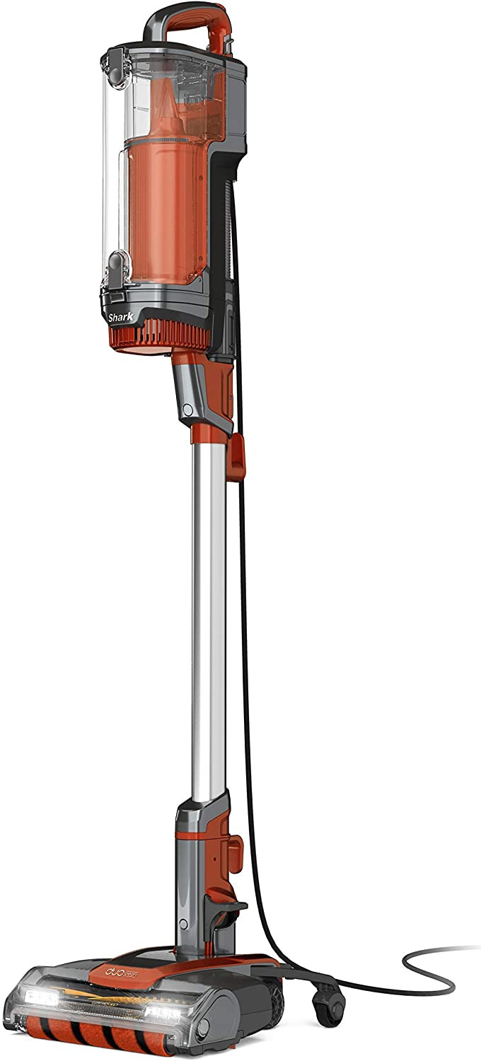 Shark UpLight Upright Vacuum, Terracotta (Renewed)