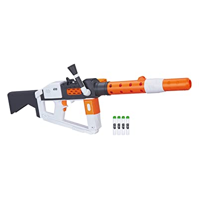 Star Wars Nerf First Order Stormtrooper Deluxe Blaster: Toys & Games