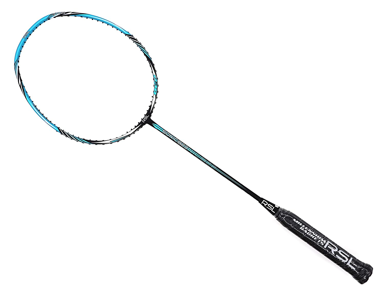 RSL Sonic 822 ブラック ブルー マット バドミントン ラケット (4U-G5)   B07HC9J7PH