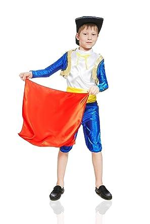 Kids Boys Spanish Matador Costume Bullfighter Suit Torero Outfit Toreador Dress Up (3-6  sc 1 st  Amazon.com & Amazon.com: Kids Boys Spanish Matador Costume Bullfighter Suit ...