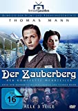 Thomas Mann: Der Zauberberg - Der komplette 3-Teiler (Langfassung) (Fernsehjuwelen) [4 DVDs]