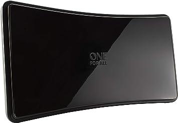 One For All SV9420, Antena de TV Amplificada para Interior, Recibe ...