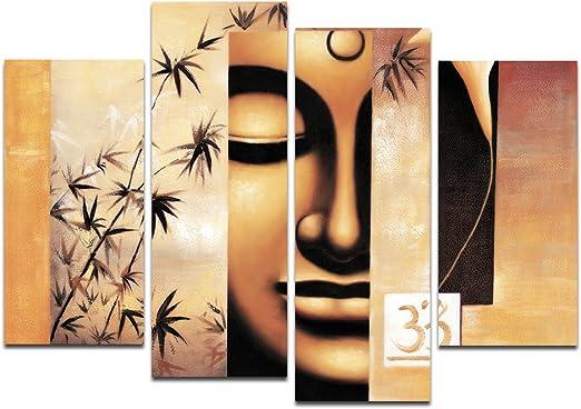 Buda pintura-Grandes Obras De Arte giclee impresión en lona