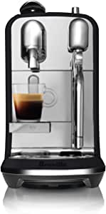 Breville Nespresso Creatista Plus Coffee Machine, Black Truffle, BNE800BTR
