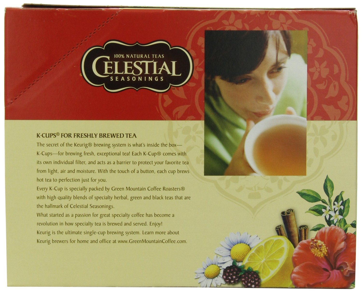 Celestial Seasonings Chai Tea K-Cups, India Spice, 96-Count by Celestial Seasonings