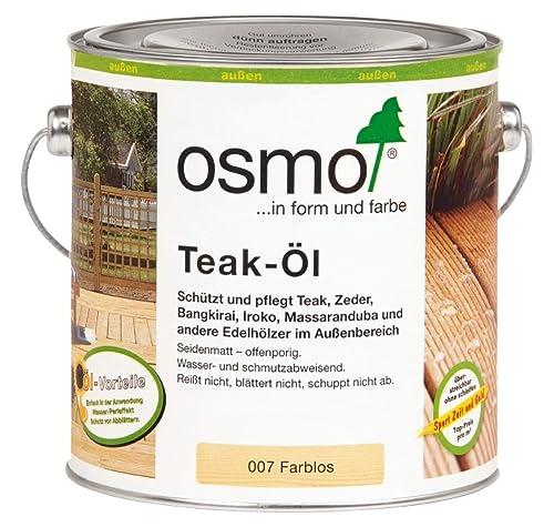 Osmo colourless Teak Oil (007) 2.5 litres