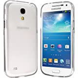 Samsung Galaxy S4 Mini Hülle - Schutzhülle Silikonhülle Case Cover Tasche für Samsung S4 Mini (Transparent)