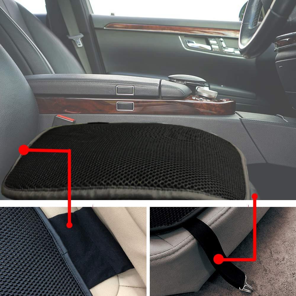 Big Ant Breathable Car Seat Cushion 1PC Car Interior Seat Cover Cushion Pad Mat for Auto Supplies Home Office Chair Black