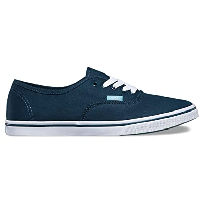 Vans Authentic Lo Pro (Midnight Navy/Aqua Sea) Women's Shoes -6