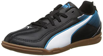 2a4983a9f624 Puma Esquadra IT Jr Youth Boys Black Sneakers Shoes Size 10 UK ...