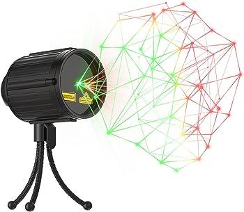 Laser Lights,Laser Christmas Lights Halloween Star Laser Shower