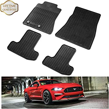 Husky Liners 2015-2016 Mustang WeatherBeater Black Front /& Second Seat 99371