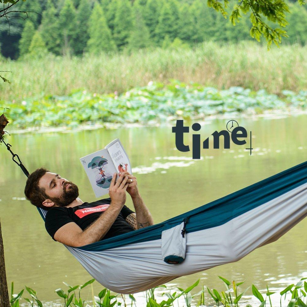 Naturehike Portable Ultralight Nylon 1-2 Persons Patio Swing Hammock For Outdoor Camping Travel Beach Yard Garden Camping & Hiking