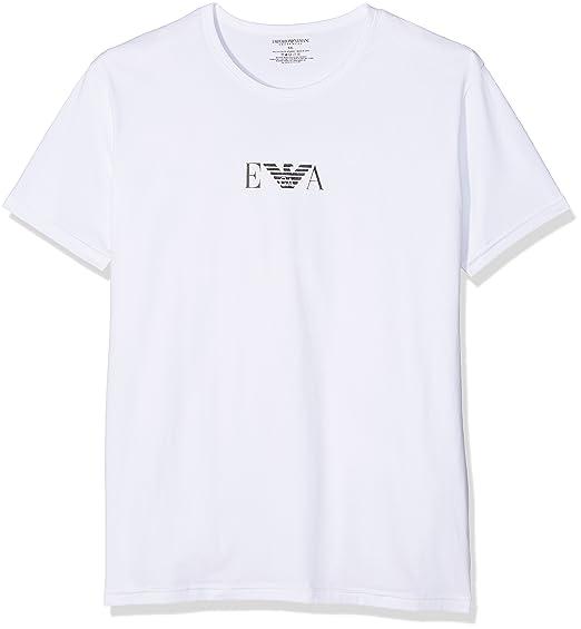 2356dc1ae26 Emporio Armani - T shirt - Lot de 2 - Manches Courtes Homme - Blanc ...
