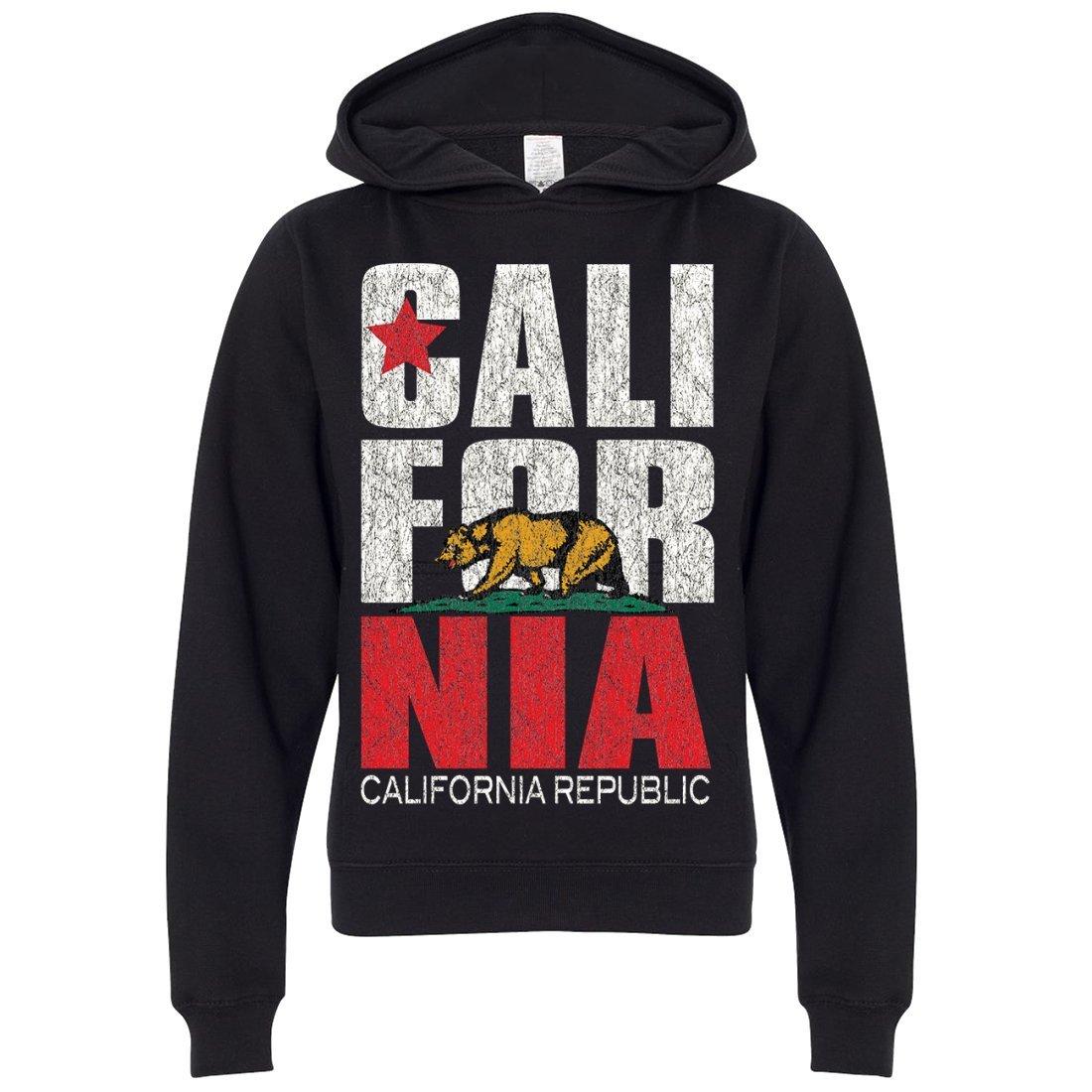 California Republic Vintage Retro Youth Sweatshirt Hoodie