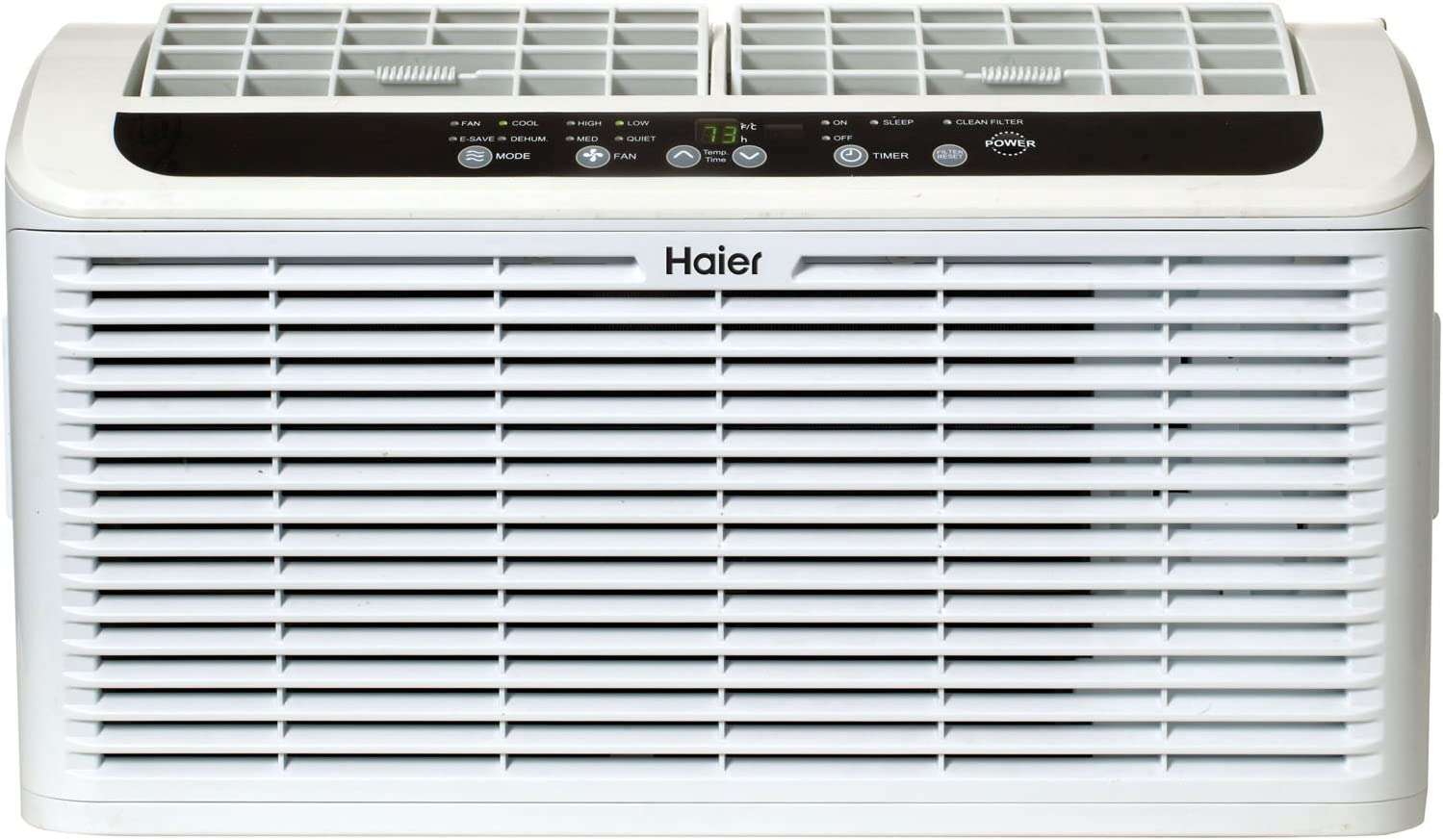 Haier ESAQ406P Serenity Series 6050 BTU 115V Window Air Conditioner with LED Remote Control
