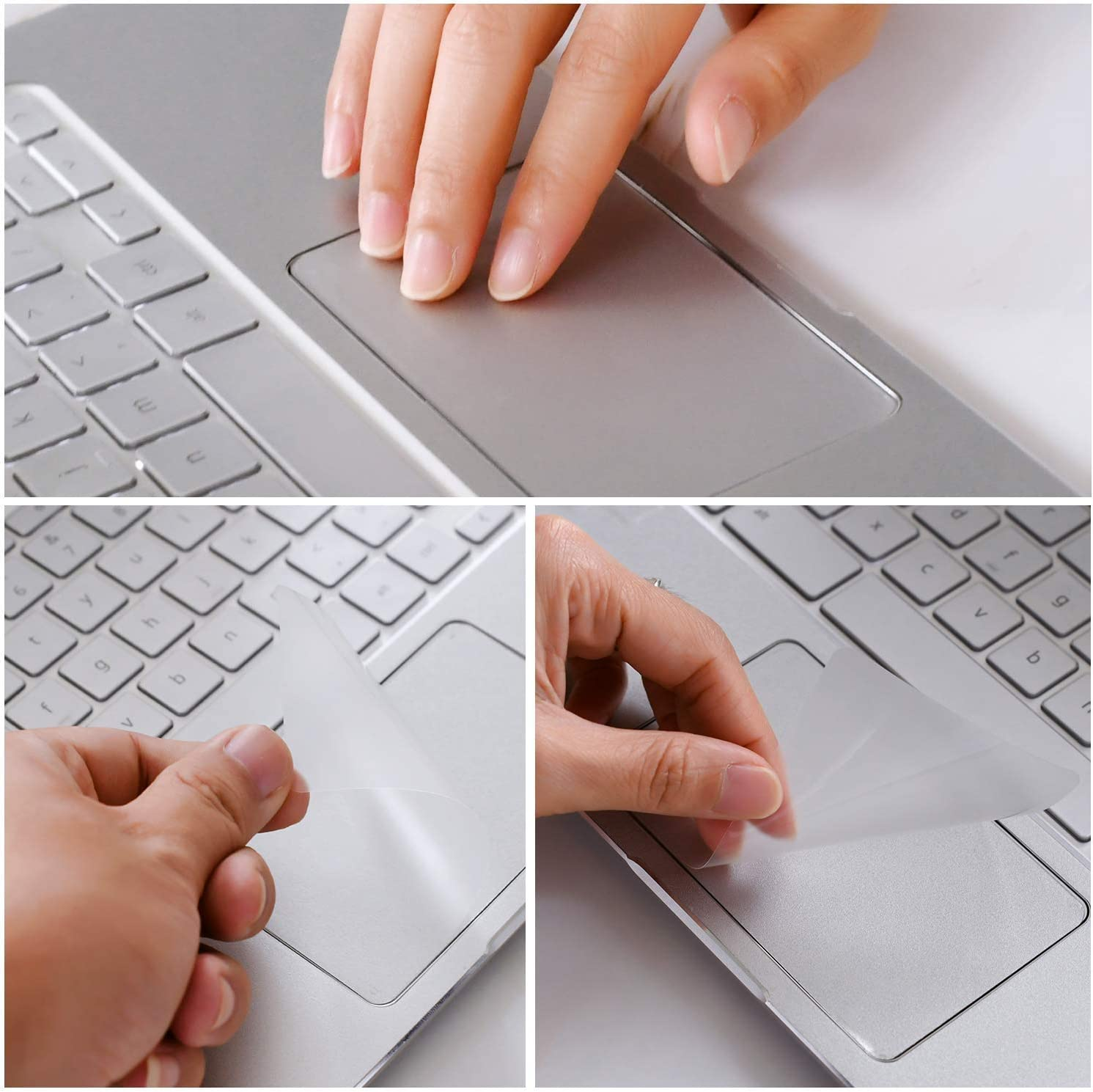 Lapogy Clear Anti-Scratch Trackpad Protector Touchpad Cover Skin for Google Pixelbook go 13.3 inch 2019,Google Pixelbook go Accessories 2 Pack