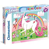 Clementoni Super Color Puzzle I Believe In Unicorns, Multi-Colour, 104 Pieces
