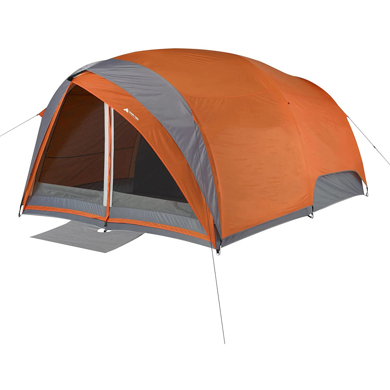 Ozark Trail 8-Person Dome Tunnel Tent With Full Fly For maximum Weather Protection
