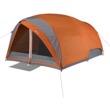 Ozark Trail 8-Person Dome Tunnel Tent With Full Fly For maximum Weather Protection  sc 1 st  Amazon.com & Amazon.com: Ozark Trail 8-Person Dome Tunnel Tent With Full Fly ...