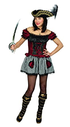 Das Kostümland Burlesque piratin Vestido Victoria Disfraz Pirata ...