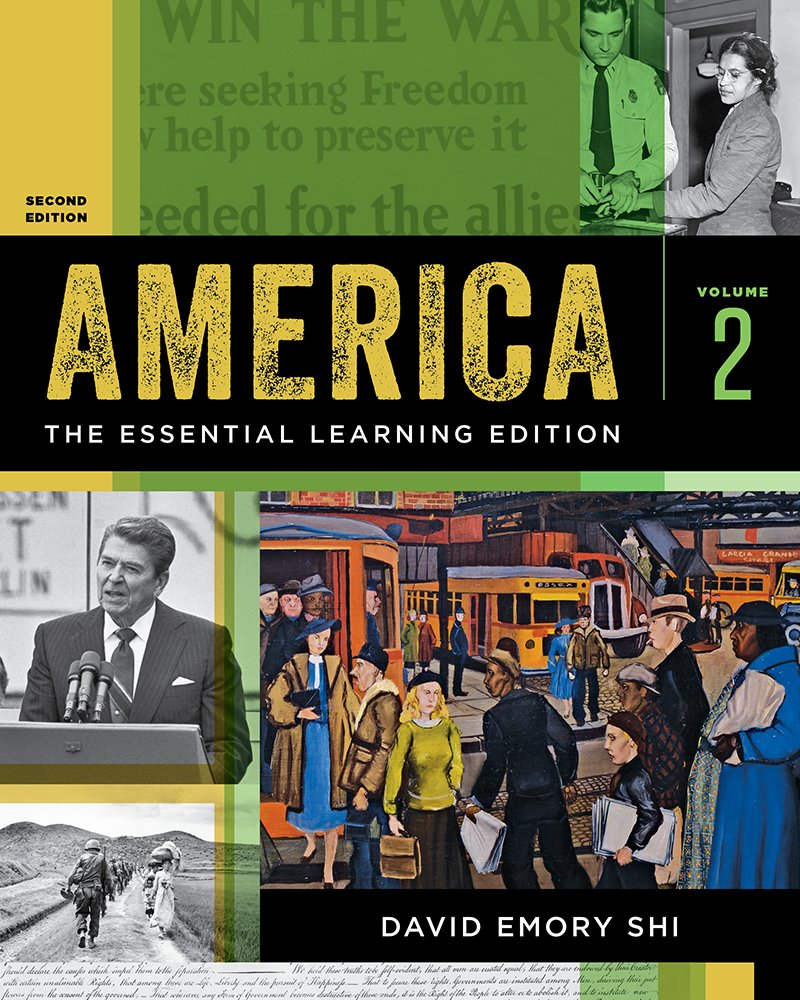 Download America: The Essential Learning Edition (Vol.2/2e,[no code]) PDF
