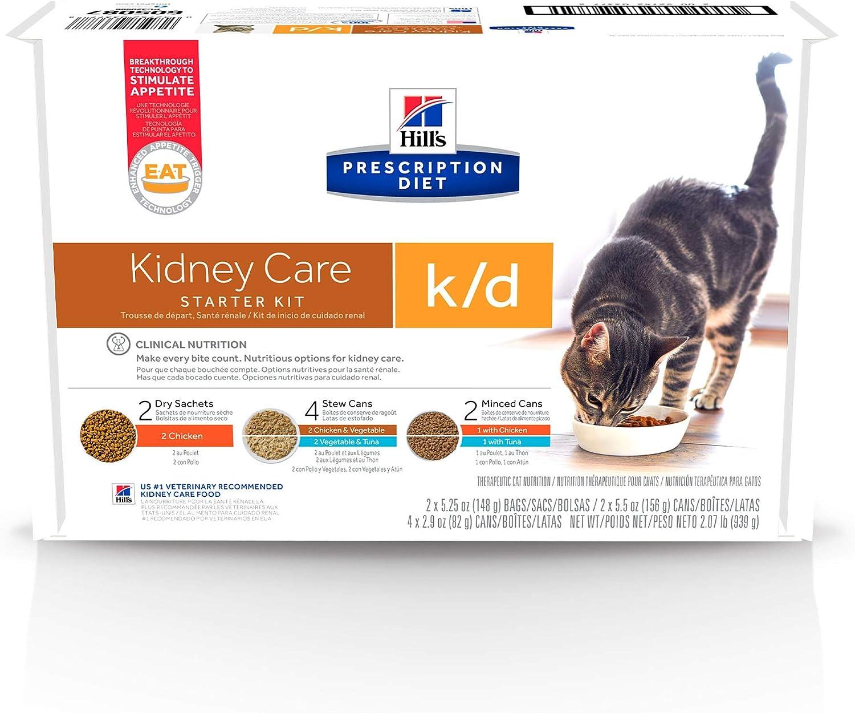 Hill's Prescription Diet Wet Cat Food, Veterinary Care, k/d Kidney Care