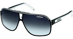 07b663b77afeb Carrera Grand Prix 2 Sunglasses in Black and White GrandPrix2 T4M 9O 64