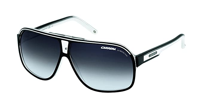 f3a66202706 Image Unavailable. Image not available for. Colour  Carrera Grand Prix 2  T4M Black and White Grand Prix 2 Aviator Sunglasses Lens C