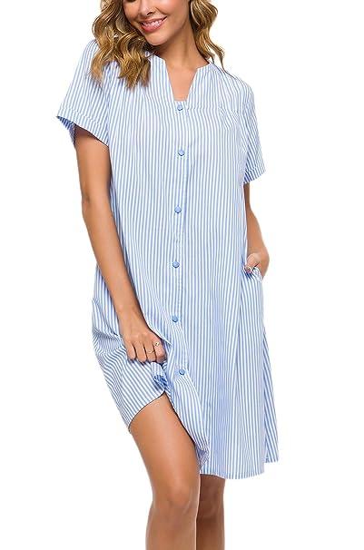 Amazon.com: YOZLY House Dress - Tumbona de algodón con ...