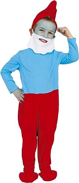 Imps - Disfraz de papá pitufo para niño (de 5/7 años): Amazon.es ...