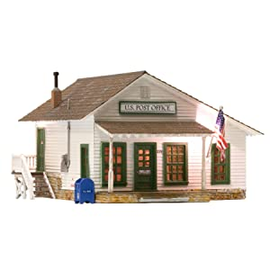 WOODLAND SCENICS LETTERS, PARCELS & POST BUILT & READY n scale
