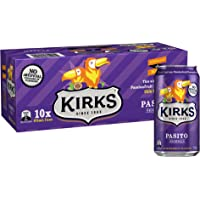 Kirks Kirks Pasito Multipack Cans Soft Drink, 10 x 375 ml