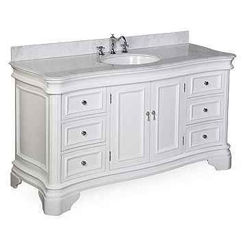Kitchen Bath Collection KBCA601WTCARR Katherine Single Sink