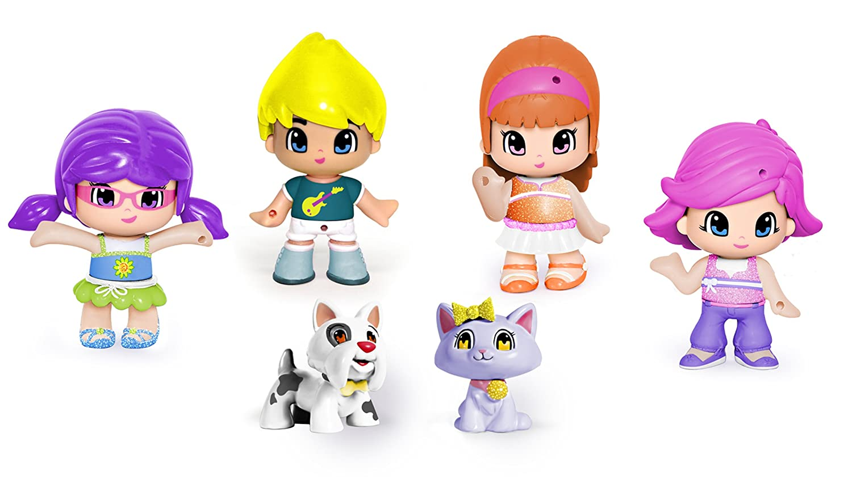 Promoción por tiempo limitado Pinypon Collection with 4 Dolls, 2 Pets and Accessories