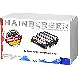 4x XXL Toner Set für CLP310/315 (alle 4 Farben) CLT-K4092S, CLT-C4092S, CLT-M4092S, CLT-Y4092S