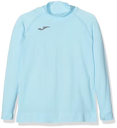 Joma Brama Classic - Camiseta térmica para niños, color celeste, talla 4-6