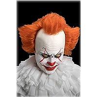 Carnival Toys Parrucca Clown Cattivo C/Calotta in Lattice in Busta C/Gancio 105, Multicolore, 8004761022778