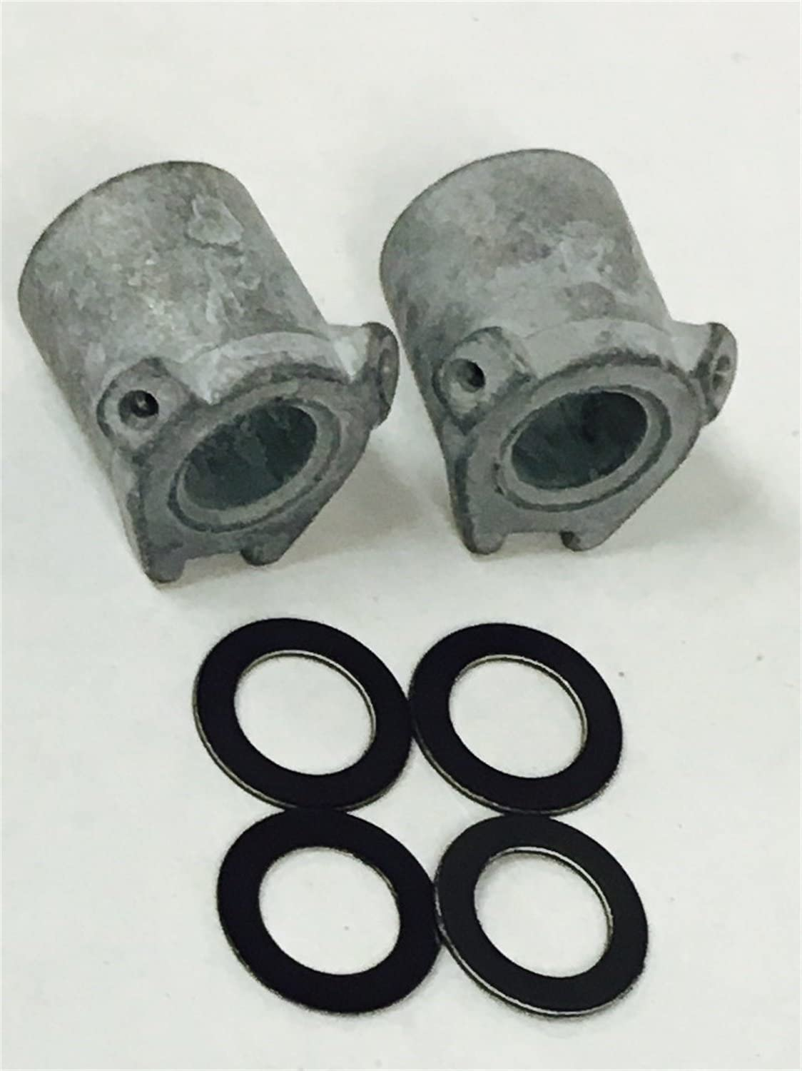 2 Nozzle//4 Gaskets Holley Performance 121-37 Accelerator Pump Discharge Nozzle