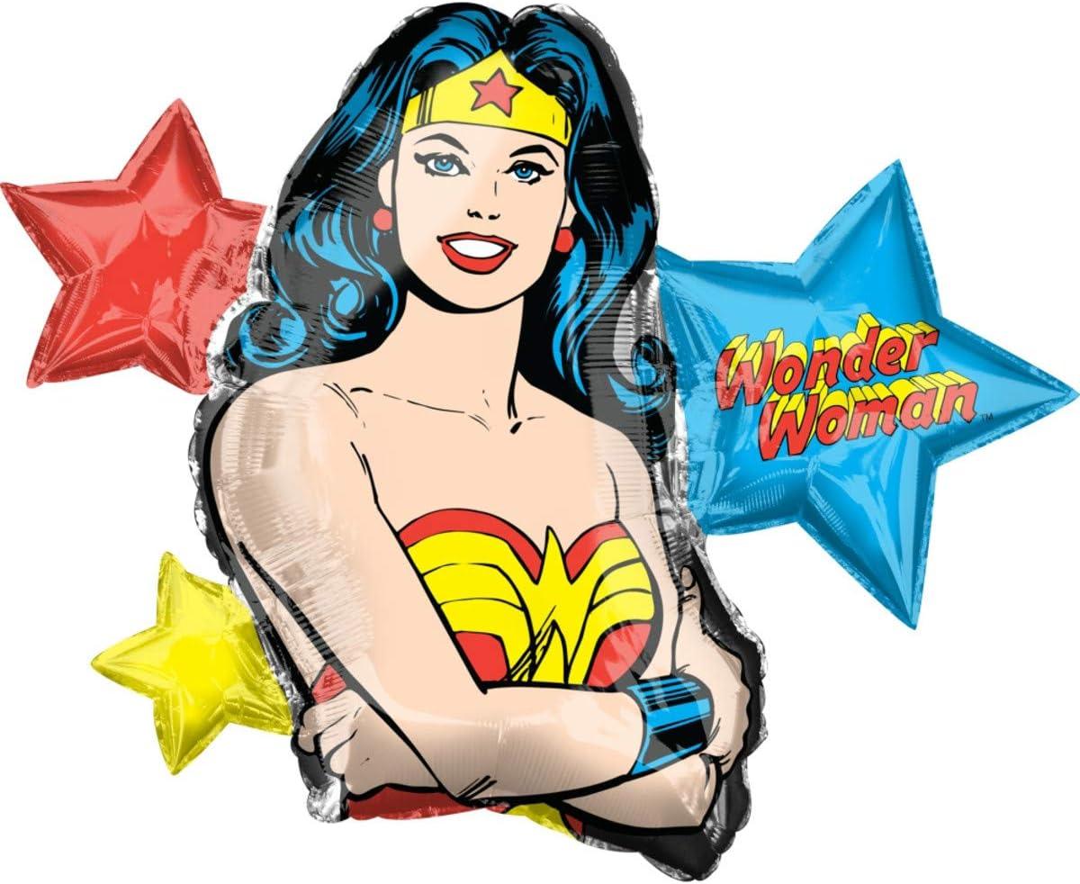 Anagram 38180 Wonder Woman Foil Mylar Party Balloon, 33