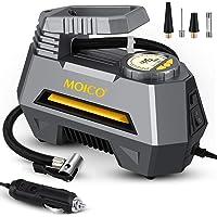 $29 » MOICO Portable Air Compressor Tire Inflator, 12V DC Auto Shut Off Air Pump for Car Tires,Car Tire…