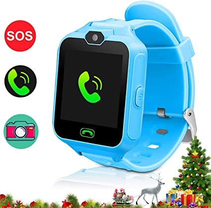 FOROPIOLY Kids Smartwatch Kids Phone Watch Smart Watch for Kids Watches for Kids Phone Watch with Games Camera SOS Alarm Clock Smart Watch for Girls ...