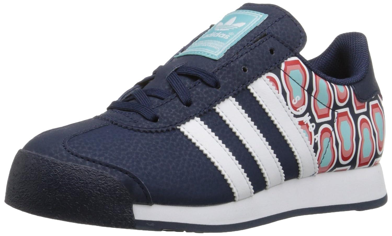 Amazon.com | adidas Samoa Sneaker (Little Kid/Big Kid) | Walking