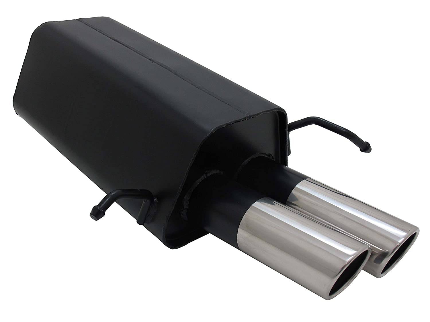 Sports exhaust silencer for Mercedes Benz MB W209, C209, CLK Coupé